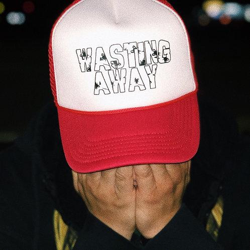 LOGO TRUCKER HAT (RED/WHITE)