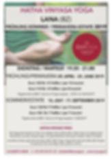 Hatha Vinyasa Yoga LANA Spring Summer 20