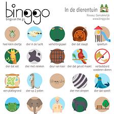 Bingo in de dierentuin