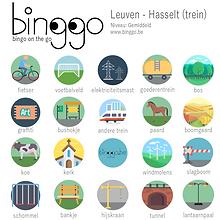 treinbingo Leuven Hasselt