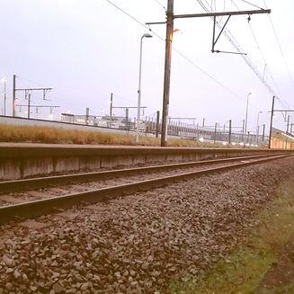 Treinspoor Antwerpen