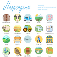 Haspengouw bingokaart, bingo Limburg