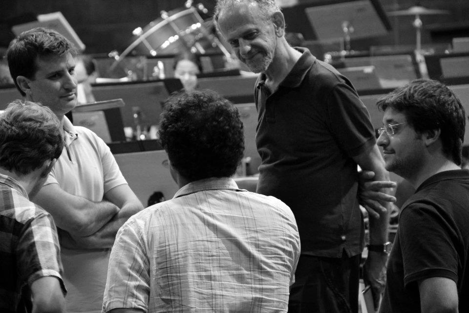 Com Jamil Maluf e Alexandre Guerra