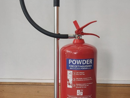 Fire Extinguishers For Lithium Batteries