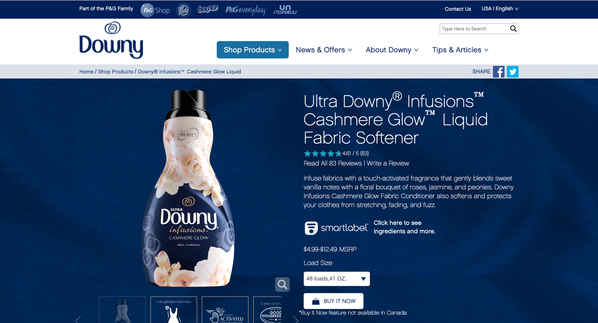 Downy Infusions Site 3