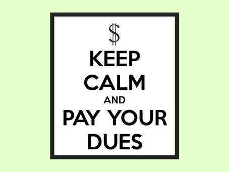Paying Dues