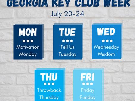 Key Club Promotional Week