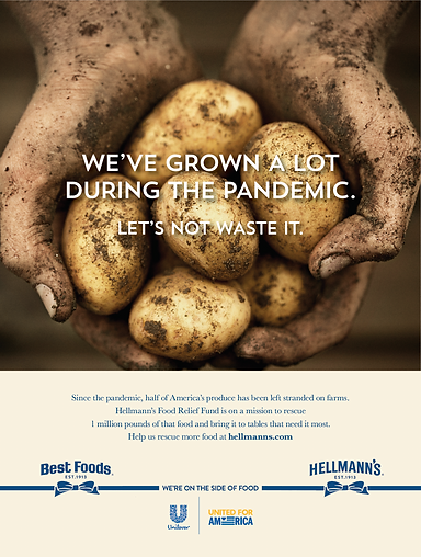 Hellmann's Food Relief Fund Print Ad.png