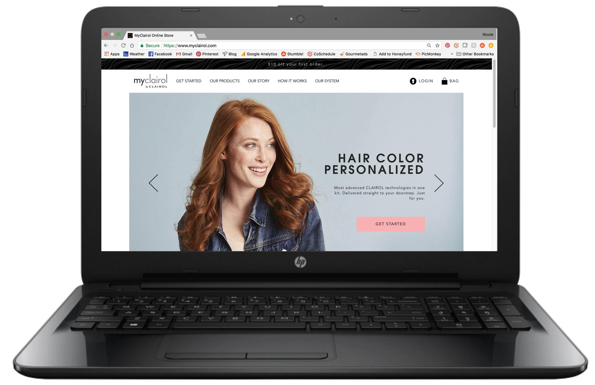 myclairol homepage