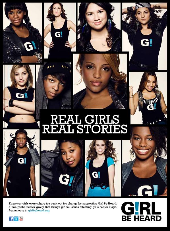 Girl Be Heard Poster