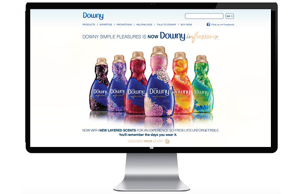 Downy Infusions Website