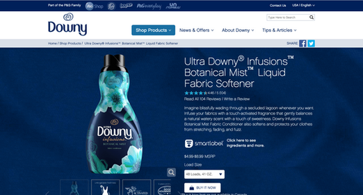 Downy Infusions Site 2
