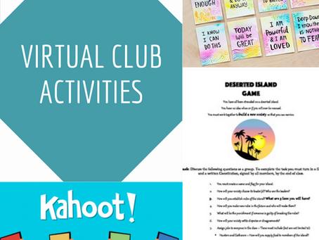 Virtual Club Activities