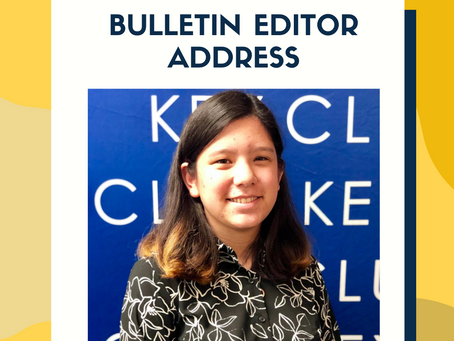 2020-2021 Bulletin Editor Address