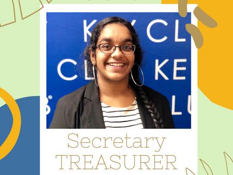 2020-2021 Secretary-Treasurer's Address