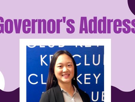 2020-2021 Governor's Address