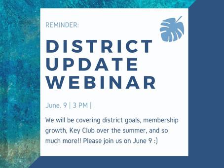 District Update Webinar