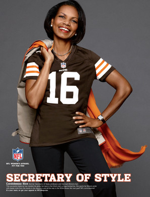 NFL Women's Apparel It's My Team Campaign 1