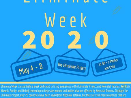 Eliminate Week