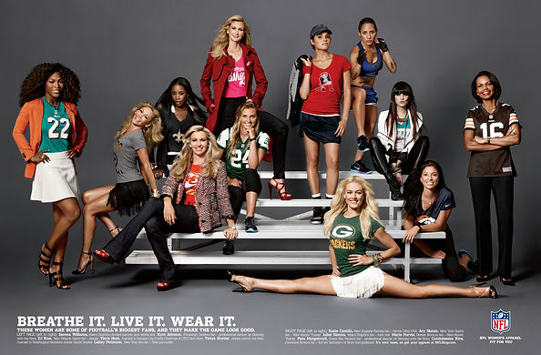 NFL Women's Apparel It's My Team Campaig