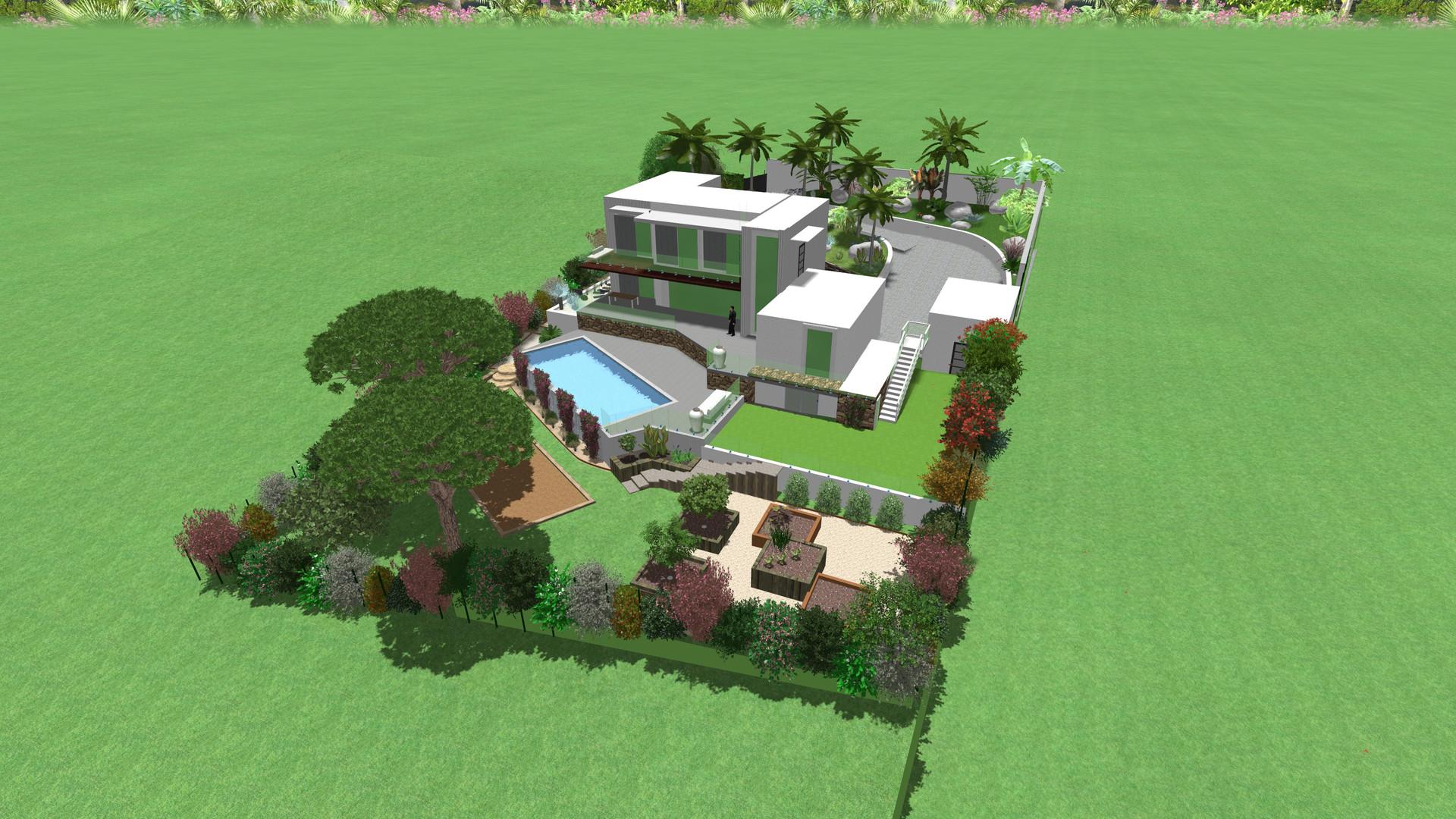 Projet villa les Issambres
