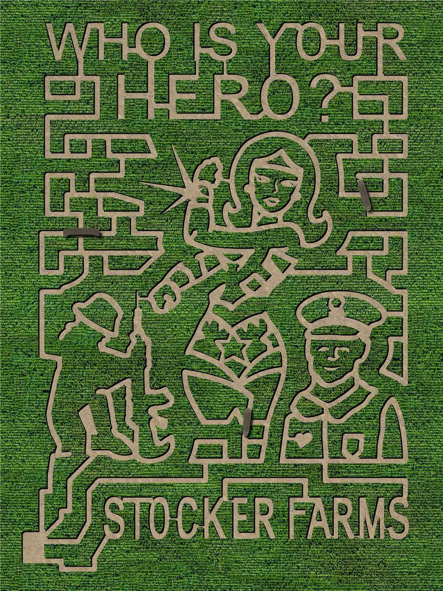 stocker farms corn maze 2018