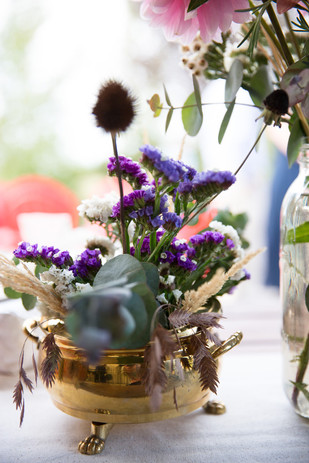 An Offbeat, Hippie, Raver Fall Wedding at Woodland Meadow Farms