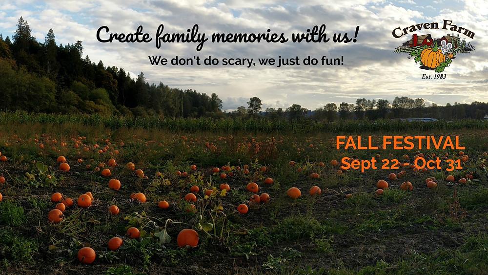 craven farm pumpkin patch