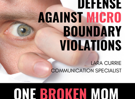 Defense Against Micro-Boundary Violations with Lara Currie