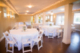 Belle Chapel wedding reception