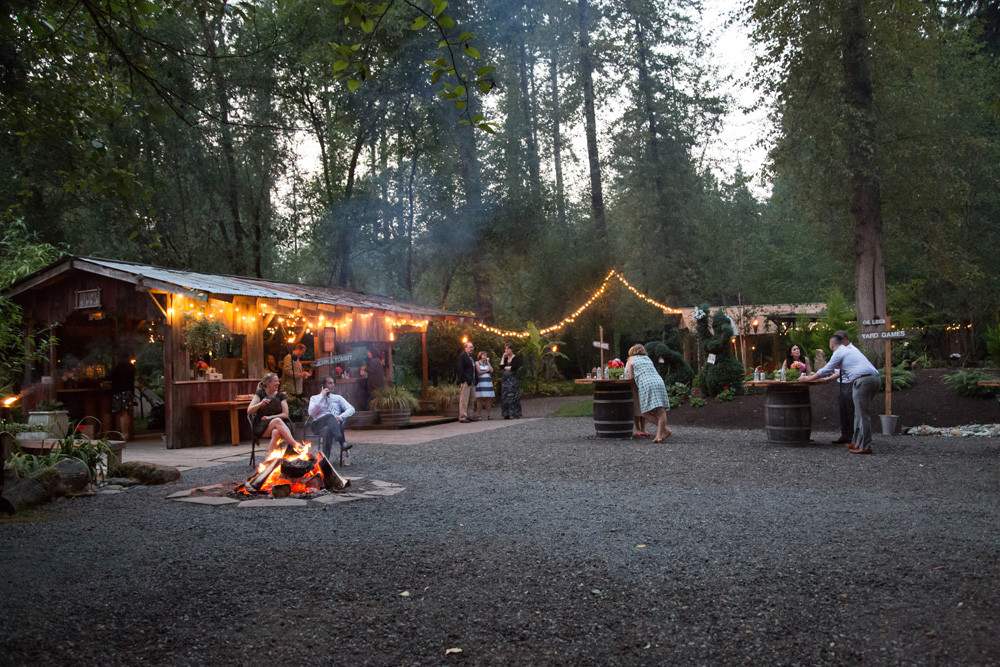 maroni meadows bonfire at snohomish wedding by melissa miksch photography