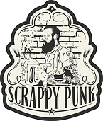 scrappy punk brewery logo