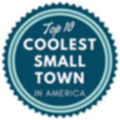 Top 10 Coolest Small town badge