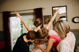 "Four Ways to Make the ""Getting Ready"" one of the Best Parts of Your Wedding Day"