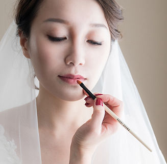 asian makeup artist in seattle wedding party makeup and styling by Vian K bridal makeup