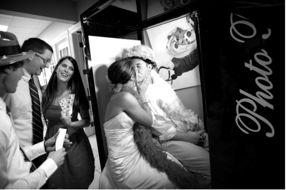 Emerald City Photo Booth at Snohomish wedding