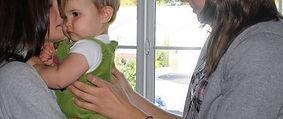 chiropractic adjustmet on a child