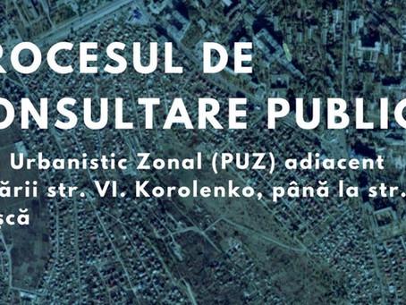 Объявление о проведении общественных консультаций по Зональному градостроительному плану Короленко