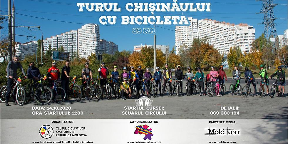 Turul Chișinăului cu Bicicleta
