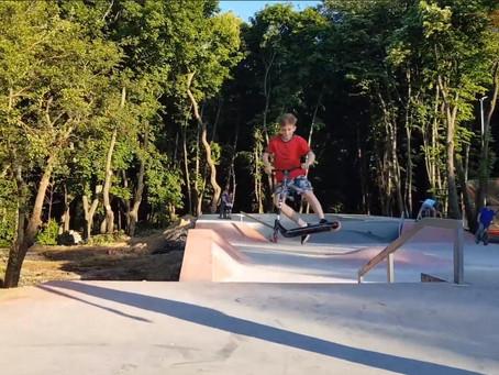 Кишиневский скейтпарк официально откроется 1 июня в Международный день защиты детей