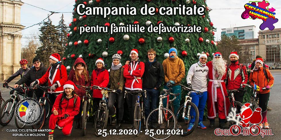 Ciclo Moșul sau Moș Crăciun pe Bicicletă