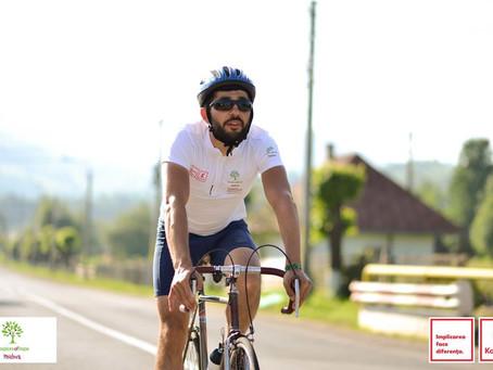 Евгений Каменщик преодолел 700 километров в рамках HOSPICE Bike Tour