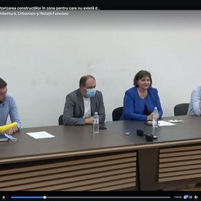 В Объединении Архитекторов Молдовы состоялась первая дискуссия с  архитектекторами и урбанистами