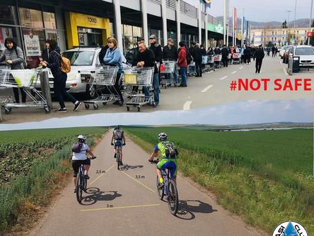 Велосипедные организации из Румынии требуют разрешения езды на велосипеде во время ЧП в стране