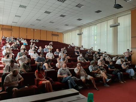 Процесс общественных консультаций Градостроительного зонального плана (PUZ) ЦИРК