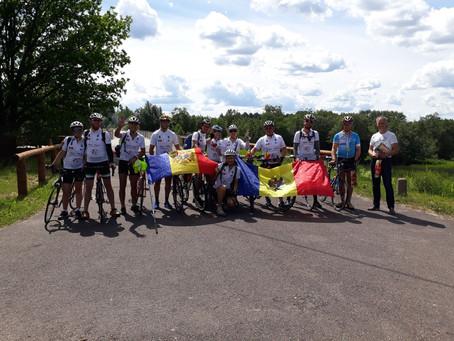Молдавские велосипедисты доехали до Санкт-Петербурга