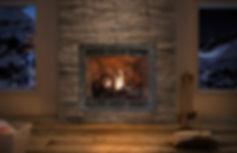 chimney firelace