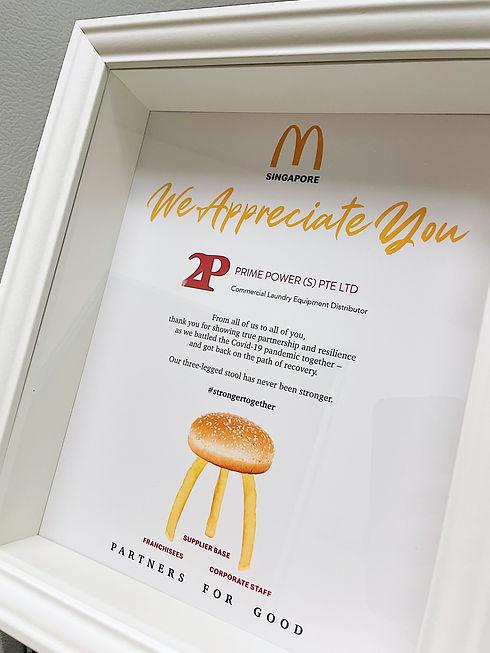 McDonald's Appreciation