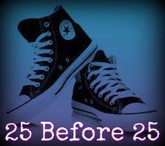 25 Before 25: A Bucket List