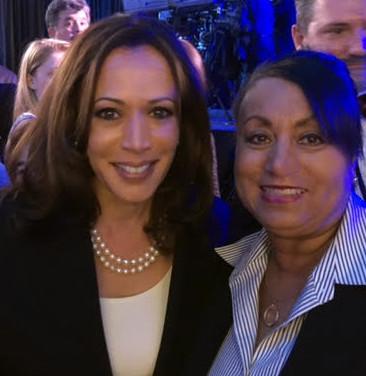 CA Senator Kamala Harris with Mary Kennedy